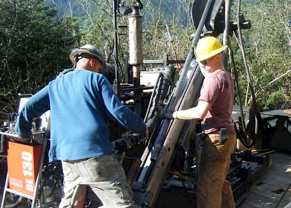 Drilling at Herbert Gold
